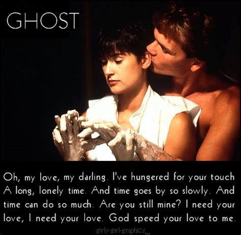 Ghost Film Phrases | pin by dani aza on movie quotes pinterest ghosts poem