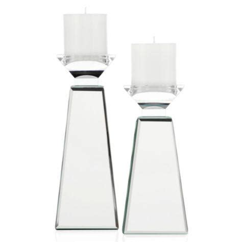 Mirror Candle Holders Prism Pillar Holder Z Gallerie