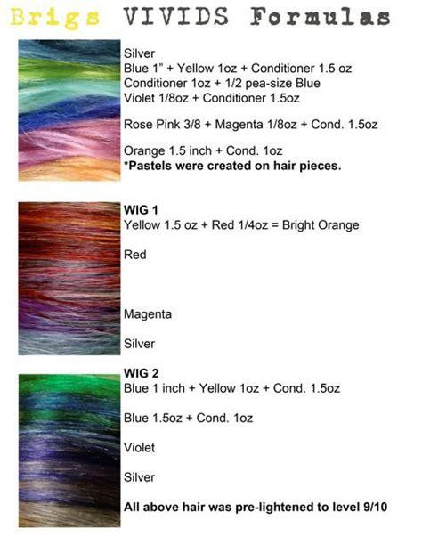 pravana color vivids formulas pinterest the world s catalog of ideas