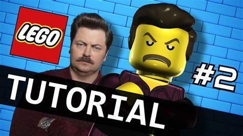 tutorial watch me watch me animate lego ron swanson tutorial part 2 2