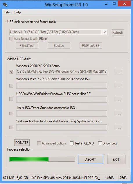 membuat bootable usb windows xp membuat bootable window xp xp pro dengan flash disk r2