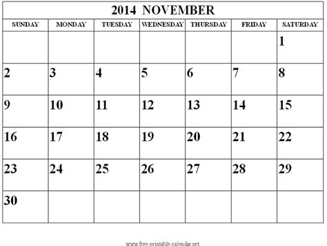 November 2014 Calendar Image Gallery November 2014 Calendar