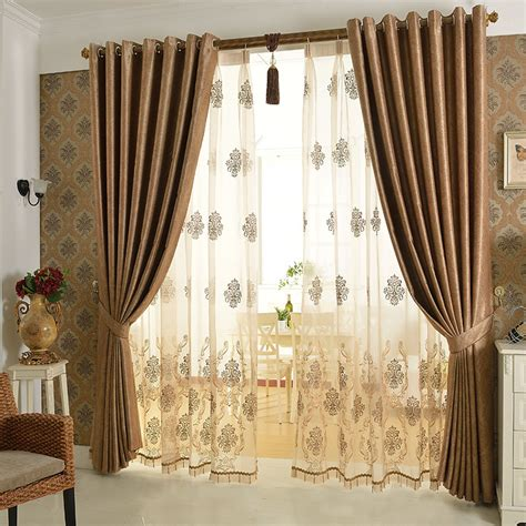 European Luxury Curtain Cortina Windows Screening Bedroom Curtain Designs For Bedrooms