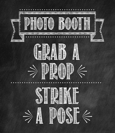 A Star Studded 40th Birthday Party Tidbits Twine Free Printable Photo Booth Sign Template