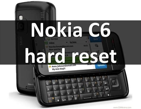 resetting nokia e6 00 to factory settings nokia c6 hard reset reset smartphone on symbian