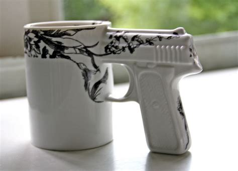 cool cup gun guns mug image 324901 on favim com