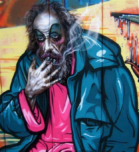 imagenes realistas arte arte callejero realista de smugone marcianos