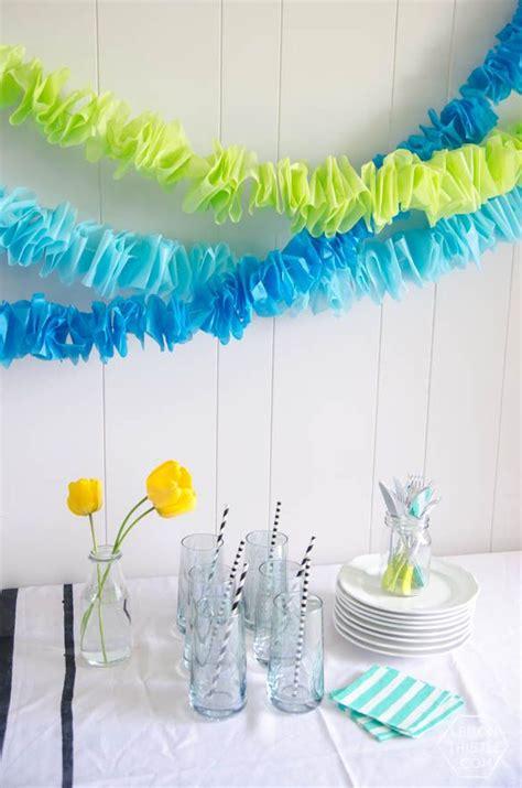 como hacer decoraciones con papel las 25 mejores ideas sobre papel seda en pinterest y m 225 s