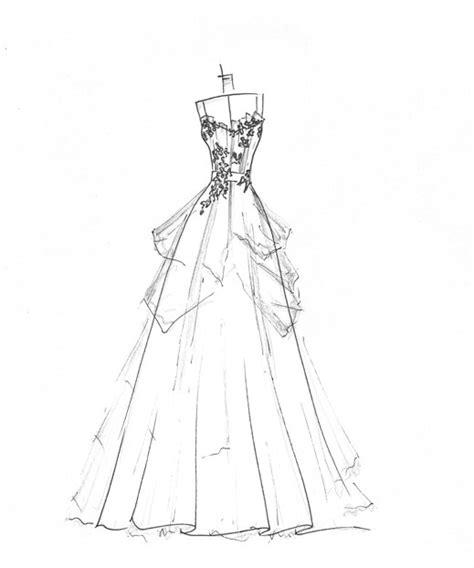 brautkleider zeichnungen an cottage wedding wednesday on thursday dress