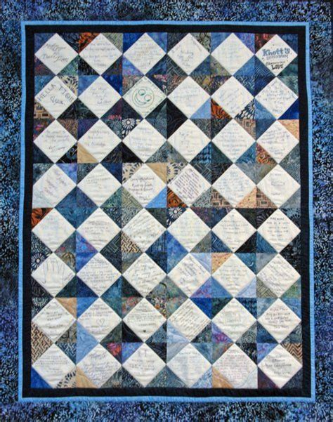 Signature Quilt Pattern by 25 Best Ideas About Signature Quilts On