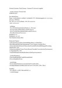 Sle Resume In German Language Resume In Ohio Sales Lewesmr