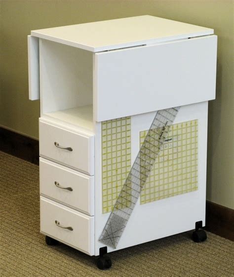 Craft Table With Drawers by Model 93c Cutting Craft Table 3 Drawer Cutting Craft Table In White