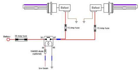 hid headlight relay kit wiring diagram hid get free