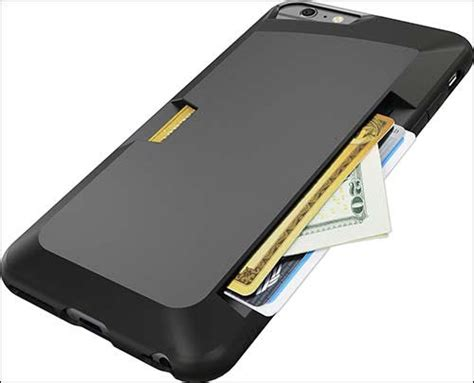 Spigen Iron Armor Iphone 6 Plus best iphone 6 plus wallet cases get rid of your wallet