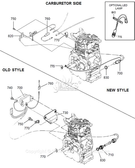 Robin Subaru Ey28 Parts Diagram For Oil Sensor Ii