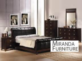 Black King Bedroom Sets Black Finish Bycast Eastern King Bedroom Set Mirandafurniture