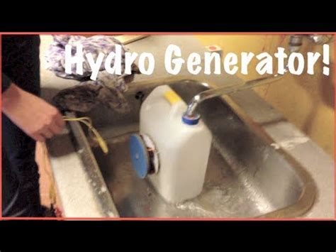 how to build a hydro generator step by step