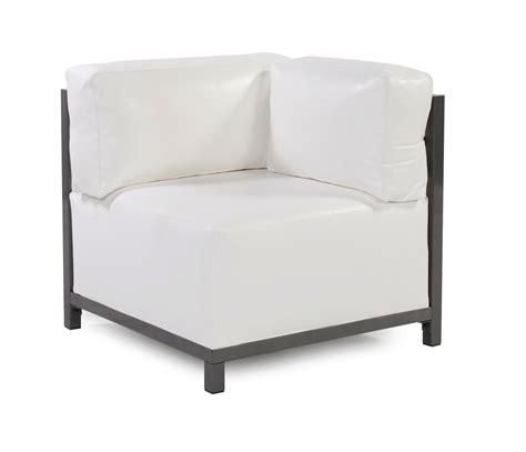 Corner Lounge Chair by Lounge Chair Corner Atlantis White Vinyl Arizona