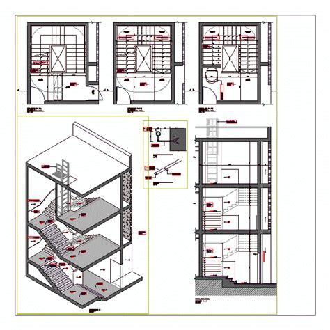 Veranda Yapımı by 2d Merdiven Projeleri Kategorisi Autocad Projeleri 59894