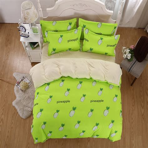 pineapple bedding pineapple bed sheets promotion shop for promotional