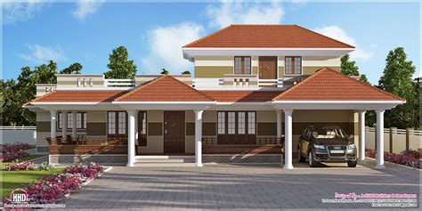 home design in kerala style 3 bedroom kerala style villa exterior kerala home design