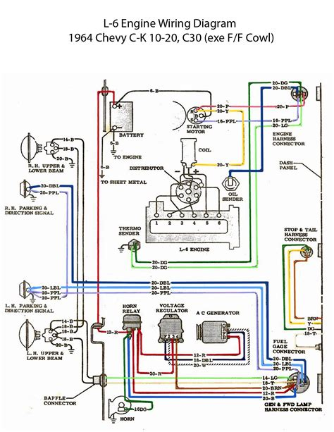 electric   engine wiring diagram chevy trucks chevy automotive electrical
