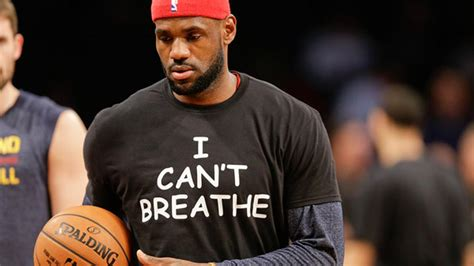 Kaos T Shirt Lebron I Can T Breathe abc7chicago abc7 wls chicago and chicago news