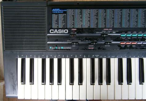 piedistallo tastiera tastiera casio 465 sound tone bank ct 650 con 61 tasti