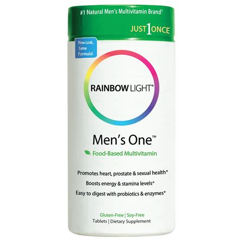 Rainbow Light Mens One rainbow light s one multivitamin 150 count health personal care