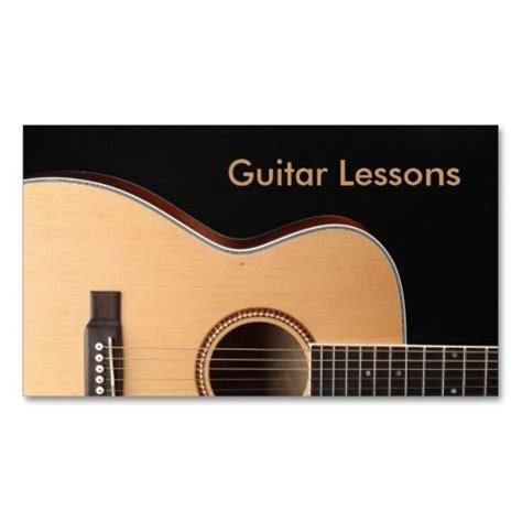 guitar business card templates 1000 images about themed business cards on