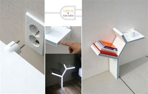 side tables with plugs plug in side table by sung pil hwang can t ask for more