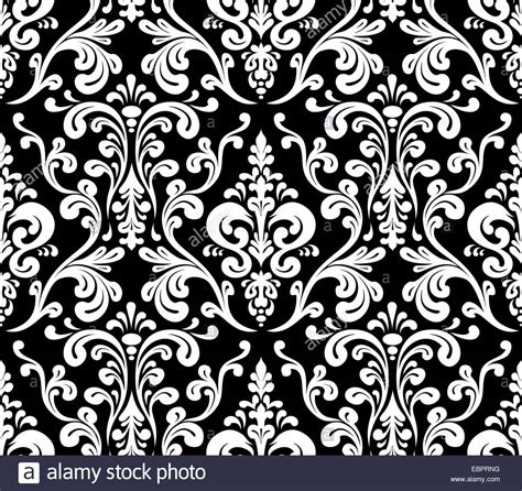 pattern vector elegant vector seamless elegant damask pattern black and white
