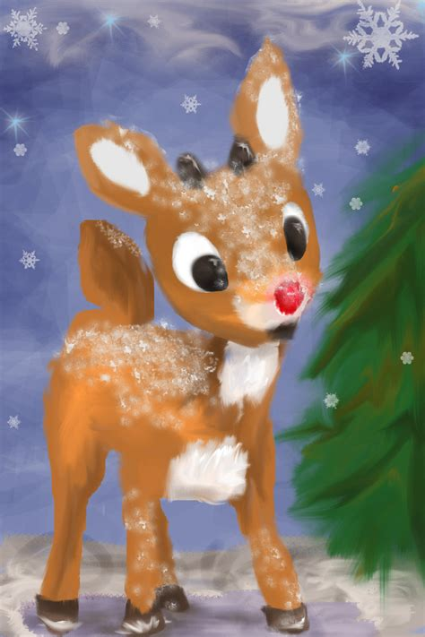 rudolph the red nosed reindeer rudolf the red nose reindeer by latharion on deviantart
