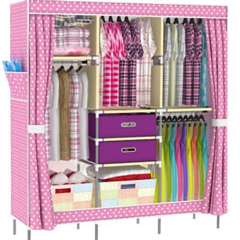 Pink Wardrobe Closet by 2017 Portable Clothes Wardrobe Closet Cabinet