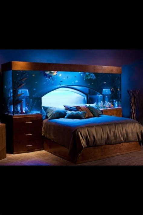fishtank bedroom fish tank bed something fishy pinterest