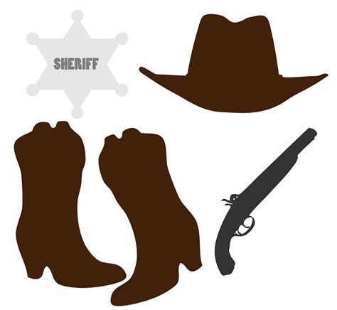 imagenes vaqueras en caricatura ilustraci 243 n gratis botas vaqueras sombrero de vaquero