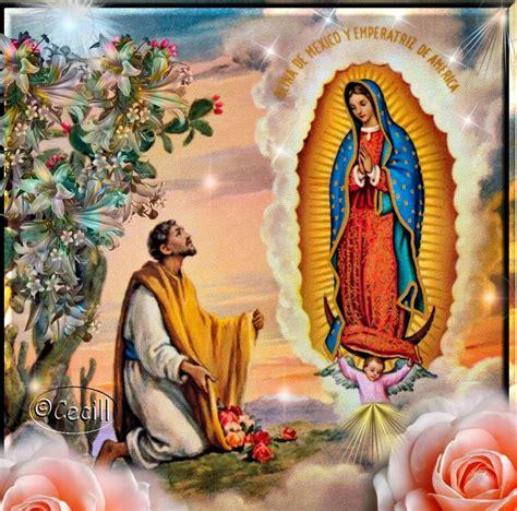 imagenes de la virgen maria con juan diego im 225 genes de cecill estas de nuestra se 241 ora de guadalupe