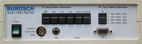 test pattern generator qsys tv und pc test pattern generator