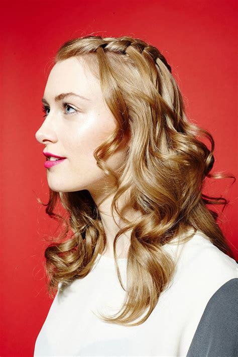Curling Hairstyles by 25 Best Ideas About Curling Iron Hairstyles On