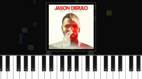 tutorial want to want me jason derulo quot want to want me quot piano tutorial chords