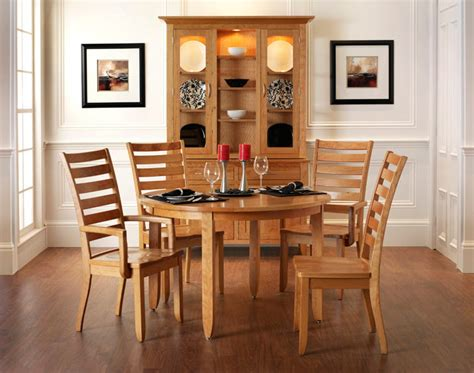 modern shaker dining room amish furniture designed
