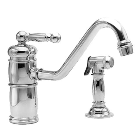 newport brass kitchen faucet 941 newport brass kitchen faucet with spray single lever