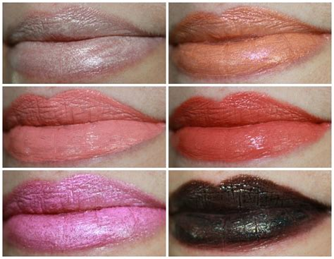Obsessive Compulsive Cosmetics Occ Lip Tar Annika occ sci fi lullabies lip tar collection swatches and