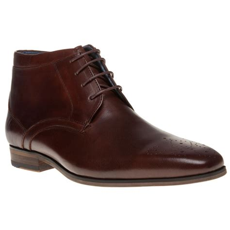 new mens sole brown malachi leather boots chukka lace up