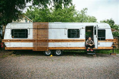 designboom trailer angrybovine constructs its own mobile design studio