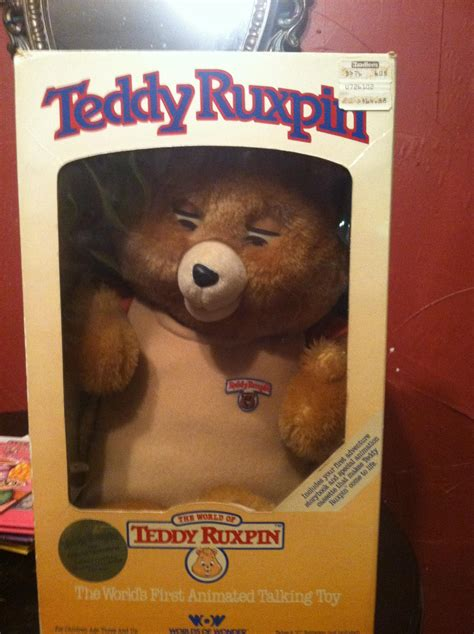 teddy ruxpin cassette teddy ruxpin in box with 6 books 5 cassette and 2