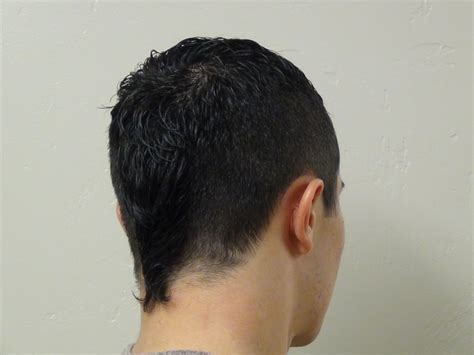 mohawk with tail hair cut boys short haircut with tail hairstyle boys and girls