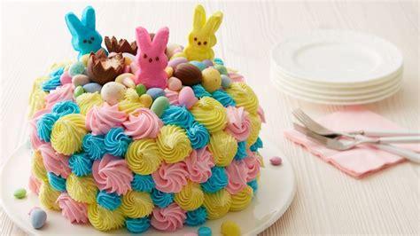 Celebration Cake Ideas by Easter Celebration Cake Recipe Bettycrocker
