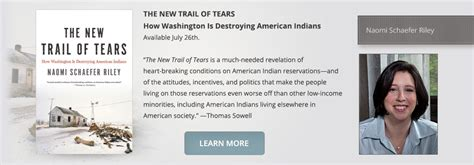 the new trail of tears how washington is destroying american indians books schaefer author and columnist
