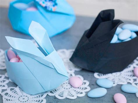 Origami Hase Faltanleitung by Origami Hase Zu Ostern Lecker